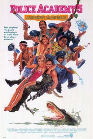 SassyFlix   Police Academy 5: Assignment Miami Beach
