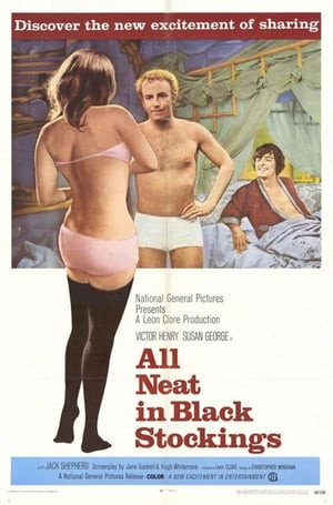 SassyFlix | All Neat in Black Stockings