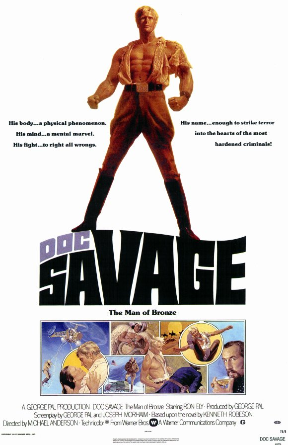 SassyFlix | Doc Savage: The Man of Bronze