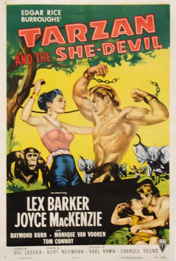 SassyFlix | Tarzan and the She-Devil