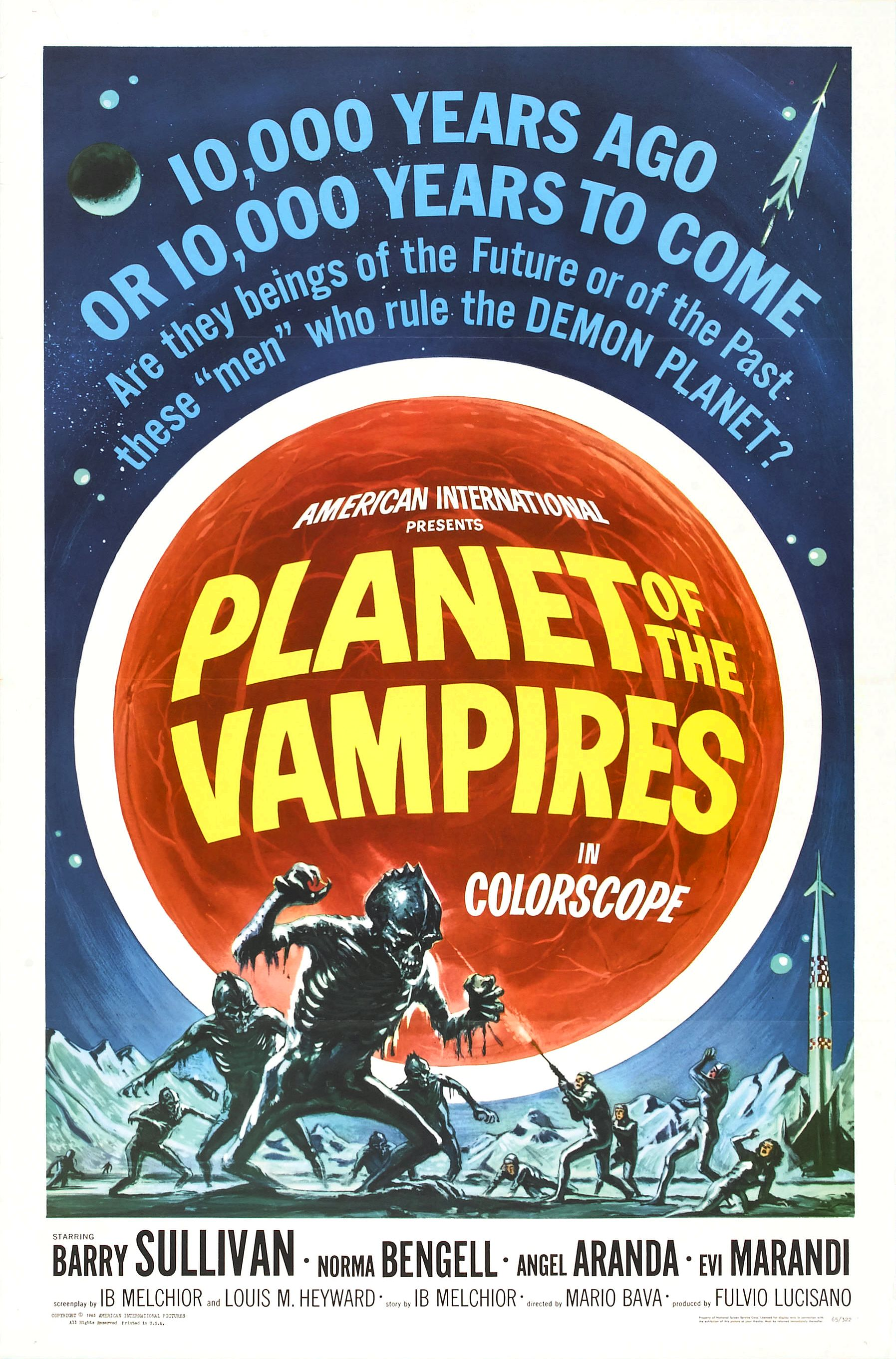 SassyFlix | Planet of the Vampires