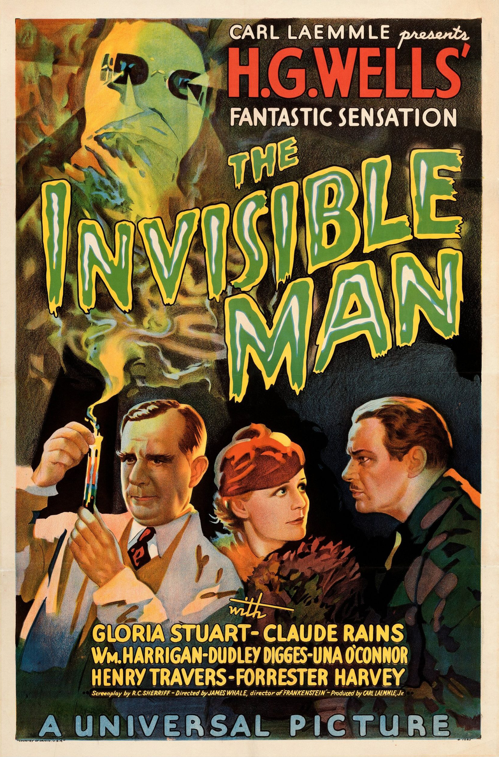 SassyFlix | The Invisible Man