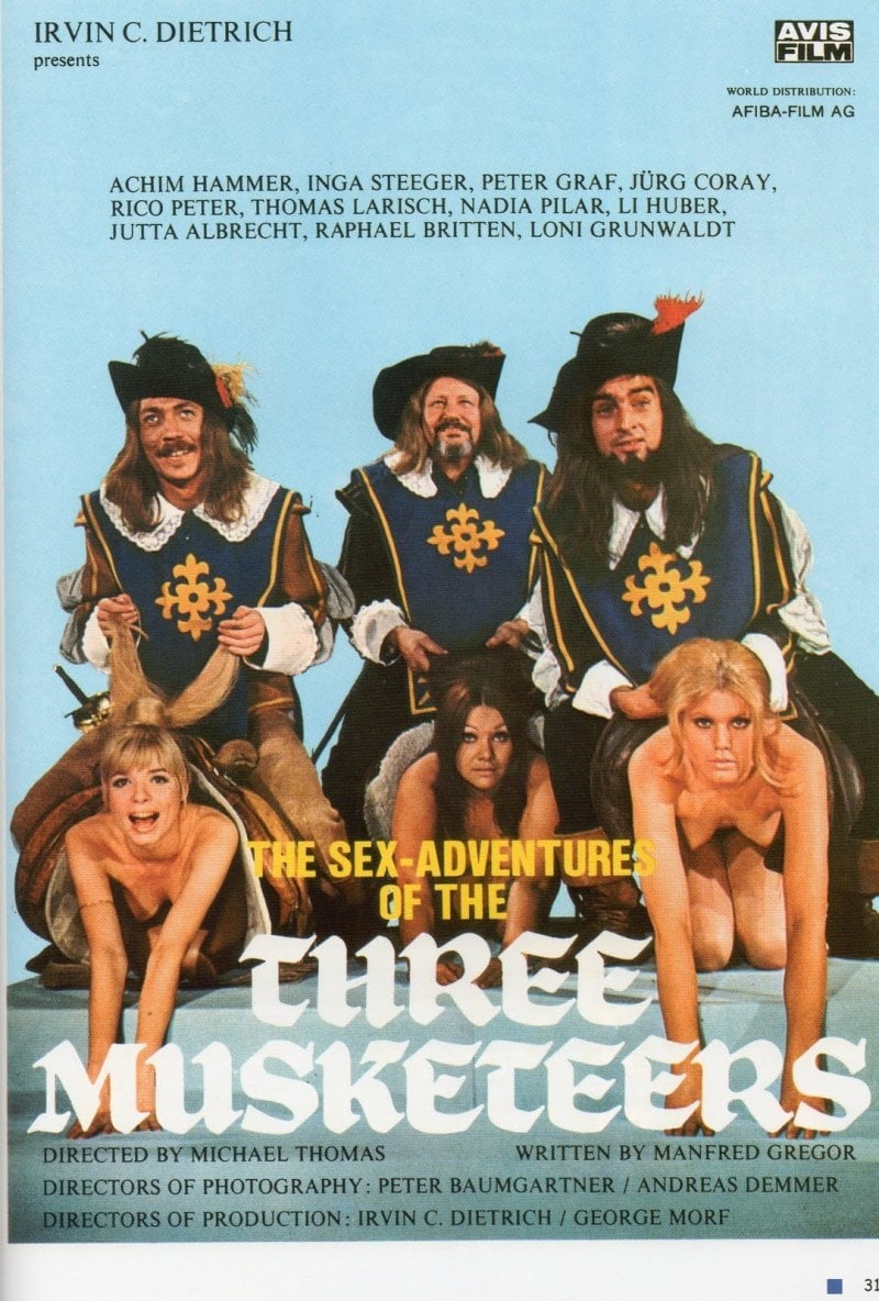 SassyFlix | The Sex Adventures of the Three Musketeers