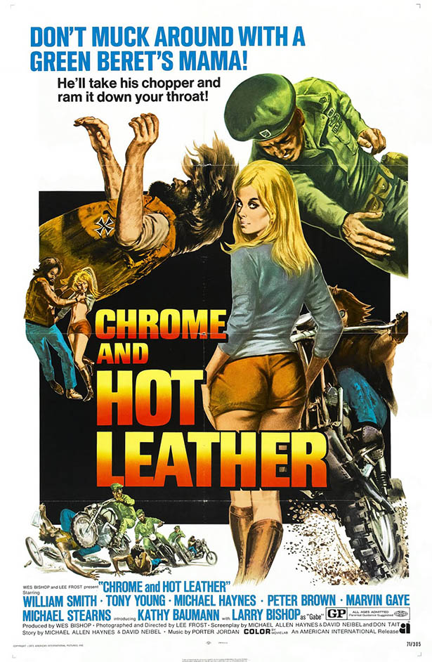SassyFlix | Chrome and Hot Leather