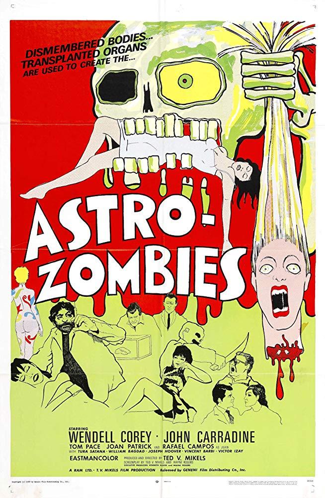 SassyFlix | The Astro-Zombies
