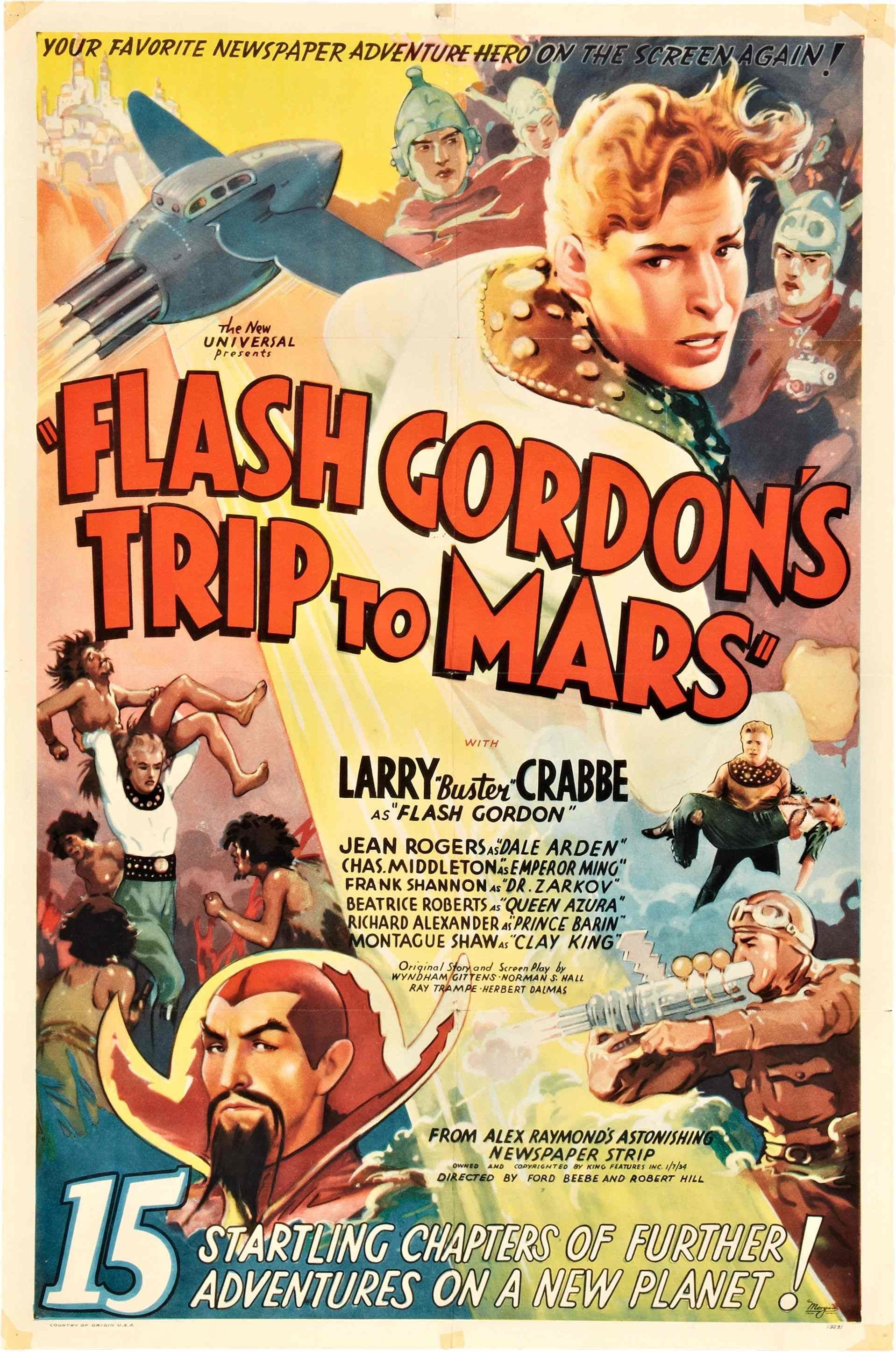 SassyFlix | Flash Gordon's Trip to Mars Part 1